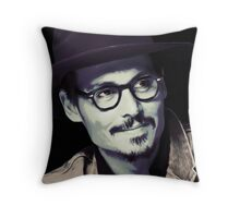 Johnny Deep Throw Pillow