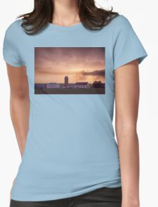Evening Country Storm Womens Fitted T-Shirt