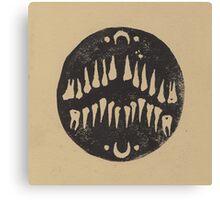 Linoleum Teeth Canvas Print