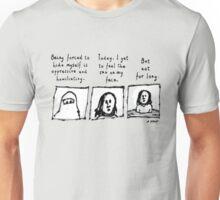 Muslim Woman's last words (Light backgrounds) Unisex T-Shirt