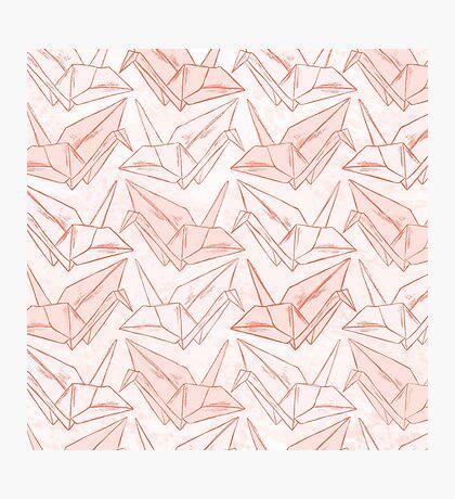 Paper Cranes Photographic Print