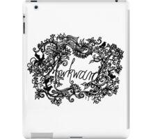 Awkward (folk version) iPad Case/Skin
