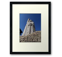 ©MS Morelos Monument At Janitzio IIA. Framed Print