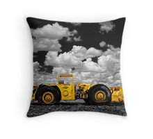 Retired but Vibrant Throw Pillow