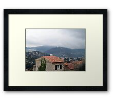 Misty day of February Framed Print