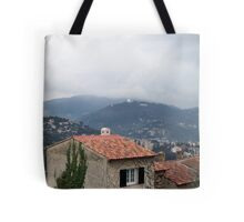 Misty day of February Tote Bag