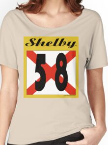 ALABAMA:  58 SHELBY COUNTY Women's Relaxed Fit T-Shirt