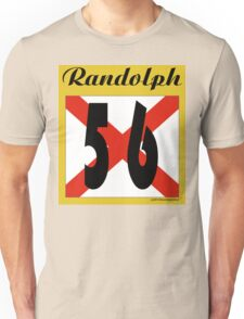 ALABAMA:  56 RANDOLPH COUNTY Unisex T-Shirt