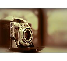 Vintage Zeiss Ikon film camera Photographic Print