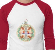 Ornament Men's Baseball ¾ T-Shirt