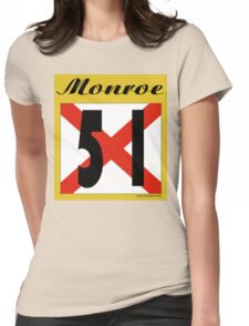 ALABAMA:  51 MONROE COUNTY Womens Fitted T-Shirt