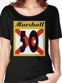 ALABAMA:  50 MARSHALL COUNTY Women's Relaxed Fit T-Shirt
