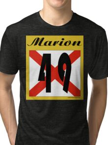 ALABAMA:  49 MARION COUNTY Tri-blend T-Shirt