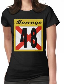 ALABAMA:  48 MARENGO COUNTY Womens Fitted T-Shirt