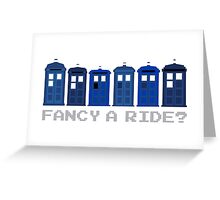 Fancy a ride? Greeting Card