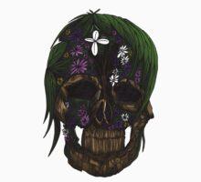 Plant Skull Kids Clothes