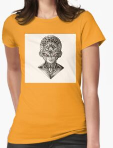Ornate Frieza Womens Fitted T-Shirt