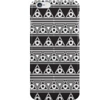 Psychedelic  Triangles and Circles iPhone Case/Skin