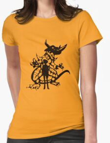 Taichi and greymon ver 2 Womens Fitted T-Shirt