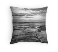 The Entrance, B&W Throw Pillow