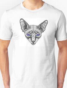 Ornate Hairless Cat Unisex T-Shirt