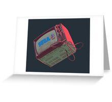 RETRO-CRT - SEGA Sonic the Hedgehog Greeting Card