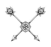 Ornate Arrows Photographic Print