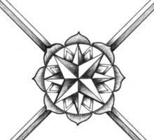 Ornate Arrows Sticker