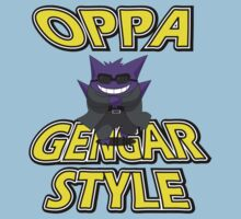 Oppa Gengar Style Kids Clothes