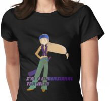 The Dimension Travelers Proclamation Womens Fitted T-Shirt