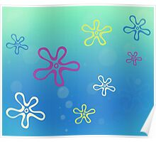 SpongeBob SquarePants - Flower Clouds Poster