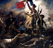 Liberty Leading The People -- French Revolution by warishellstore