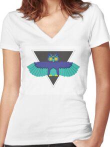 EDC OWL Women's Fitted V-Neck T-Shirt
