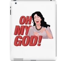 Janice Litman 'Oh My God' - Friends iPad Case/Skin