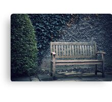waiting for you. . . Canvas Print
