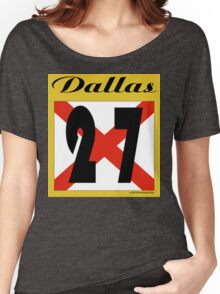 ALABAMA:  27 DALLAS COUNTY Women's Relaxed Fit T-Shirt