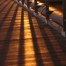 Shadows on Bridge  by JeniNagy