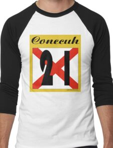 ALABAMA:  21 CONECUH COUNTY Men's Baseball ¾ T-Shirt