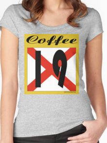 ALABAMA:  19 COFFEE COUNTY Women's Fitted Scoop T-Shirt
