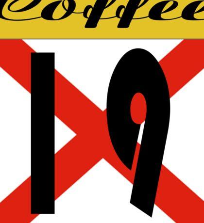 ALABAMA:  19 COFFEE COUNTY Sticker