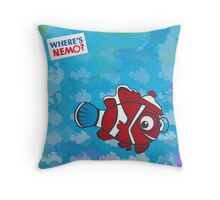 Where's Nemo? Throw Pillow