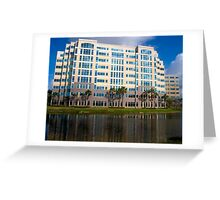 Modern Office Building Architecture Greeting Card