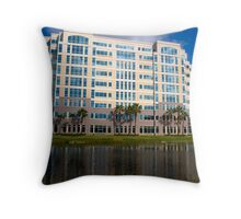 Modern Office Building Architecture Throw Pillow