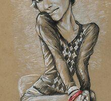 jen sketch by Michael Scholl