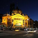 Flinders St Station by Stephen Horton