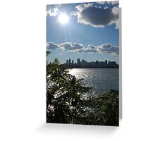 Montreal From a Distance Greeting Card