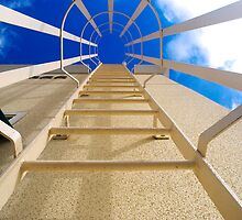 Abstract Access Ladder by robert cabrera