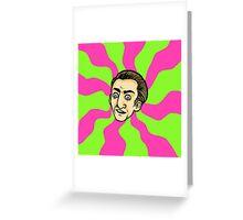 Menacing Cage Greeting Card