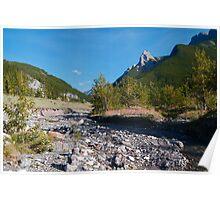Rocky stream Poster