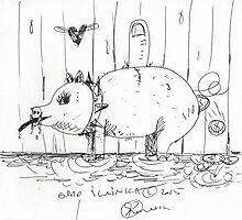 GMO SWINKA(C2015) by Paul Romanowski
